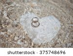 Wedding Rings On The Heart...