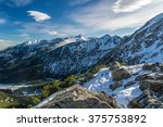 tatra mountains witch beautiful ... | Shutterstock . vector #375753892