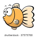 cartoon fish | Shutterstock .eps vector #37575700