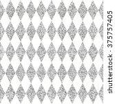 vector rhombus pattern.... | Shutterstock .eps vector #375757405