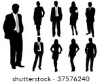 illustration of business men... | Shutterstock .eps vector #37576240