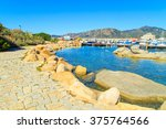 port in villiasimius  sardinia | Shutterstock . vector #375764566