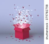 valentines day isolated gift... | Shutterstock .eps vector #375782758