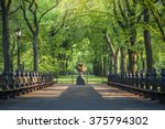central park. image of the mall ... | Shutterstock . vector #375794302