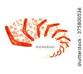 flying boomerang logo with...