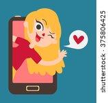 vector illustration of a... | Shutterstock .eps vector #375806425