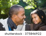 father and daughter | Shutterstock . vector #375846922