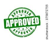 approved vector illustration...   Shutterstock .eps vector #375872755