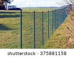 green wire fence | Shutterstock . vector #375881158