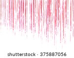grunge vector red lined texture | Shutterstock .eps vector #375887056