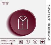 window icon | Shutterstock .eps vector #375889342