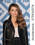 Small photo of PASADENA, CA - JANUARY 13, 2014: Keri Russell at the Fox TCA All-Star Party at the Langham Huntington Hotel, Pasadena.