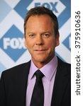 Small photo of PASADENA, CA - JANUARY 13, 2014: Kiefer Sutherland at the Fox TCA All-Star Party at the Langham Huntington Hotel, Pasadena.