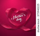 happy mothers day. vector... | Shutterstock .eps vector #375940225
