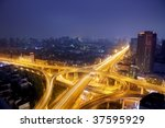 city scape of the hangzhong... | Shutterstock . vector #37595929