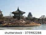 hyangwonjeong pavilion in... | Shutterstock . vector #375982288