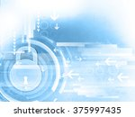 Internet Security. Pad Lock On...