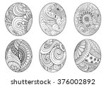 Zentangle Easter Eggs For...