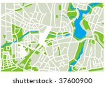 map | Shutterstock .eps vector #37600900