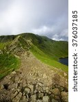 The Track Of Striding Edge To...