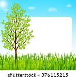 Nature Background With Green...