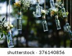 wedding decorations luxury... | Shutterstock . vector #376140856