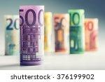 several hundred rolls of euro...