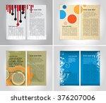 Design broschure template | Shutterstock vector #376207006