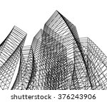 architecture background | Shutterstock .eps vector #376243906