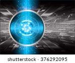 dark blue black light abstract... | Shutterstock .eps vector #376292095