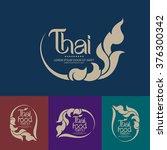 thai art vector | Shutterstock .eps vector #376300342