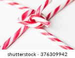 traditional christmas candy...   Shutterstock . vector #376309942