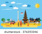 flat design  illustration of... | Shutterstock .eps vector #376353346