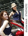 paris  france   march 2nd ... | Shutterstock . vector #376354252
