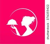 girl silhouette logo ...