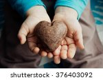 heart shaped chocolate... | Shutterstock . vector #376403092