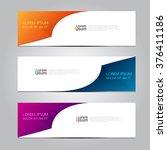 vector design banner... | Shutterstock .eps vector #376411186