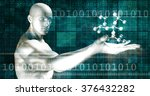 advanced technology and... | Shutterstock . vector #376432282