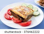 Delicious Greek Moussaka With...