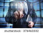 businessman using modern... | Shutterstock . vector #376463332