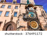 Astronomical Clock On The Old...