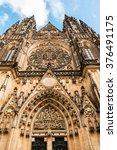 St. Vitus Cathedral Is Prague...