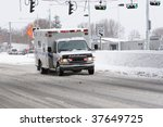 Ambulance Rushing To An...