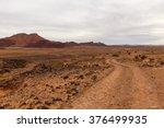 Road In The Desert Sahara