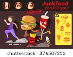 the recommended far from obese... | Shutterstock .eps vector #376507252