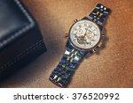 golden watch | Shutterstock . vector #376520992