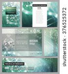 set of business templates for... | Shutterstock .eps vector #376525372