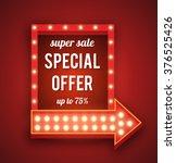 vector realistic 3d light... | Shutterstock .eps vector #376525426