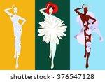 abstract sketch  model  girl  ...   Shutterstock .eps vector #376547128