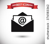 newsletter icon vector ...